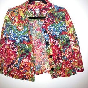 Chico's Jacket Size - 1 (EUC)